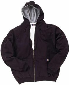 Dickies 6303 THERMAL LINED HOODED FLEECE JACKET #6303